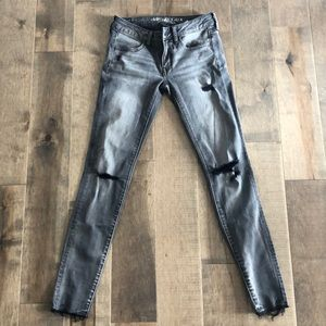 Women's AE super low jegging